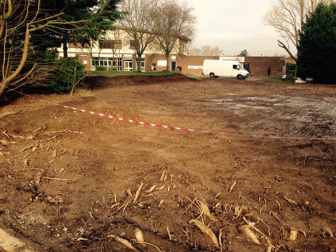 Alleged damage to Northampton Battlefield