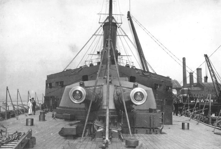 Y Turret HMS Q Turret