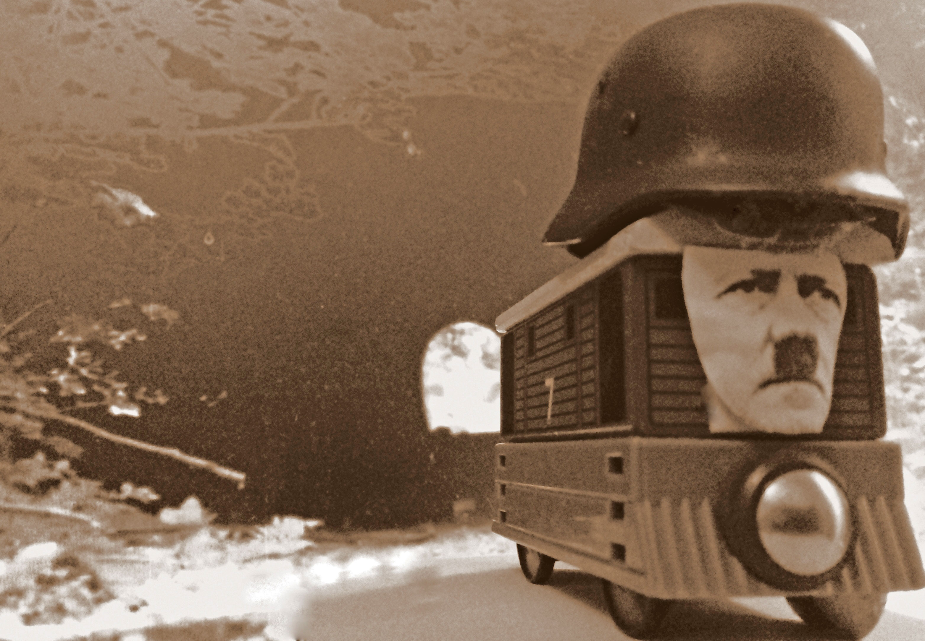 The legend of the golden train of the Third Reich