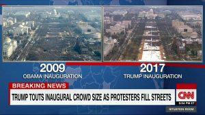 CNN TWEET Trump Inauguration