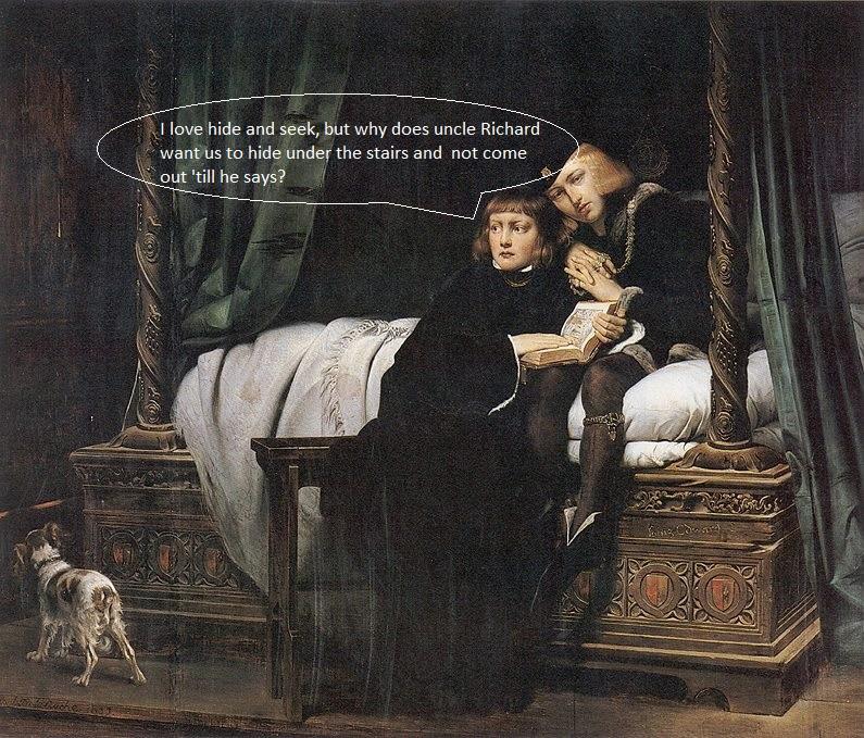 Uncle Richard Delaroche King Edward wikipaedia