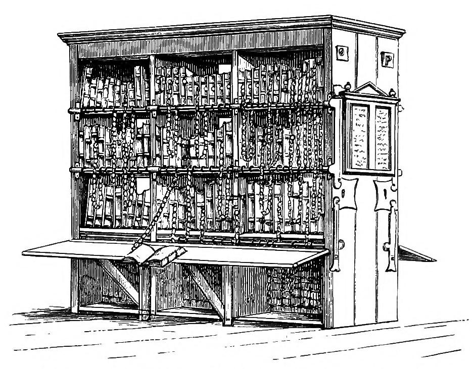 Hereford Chained Library via Wikipaedia