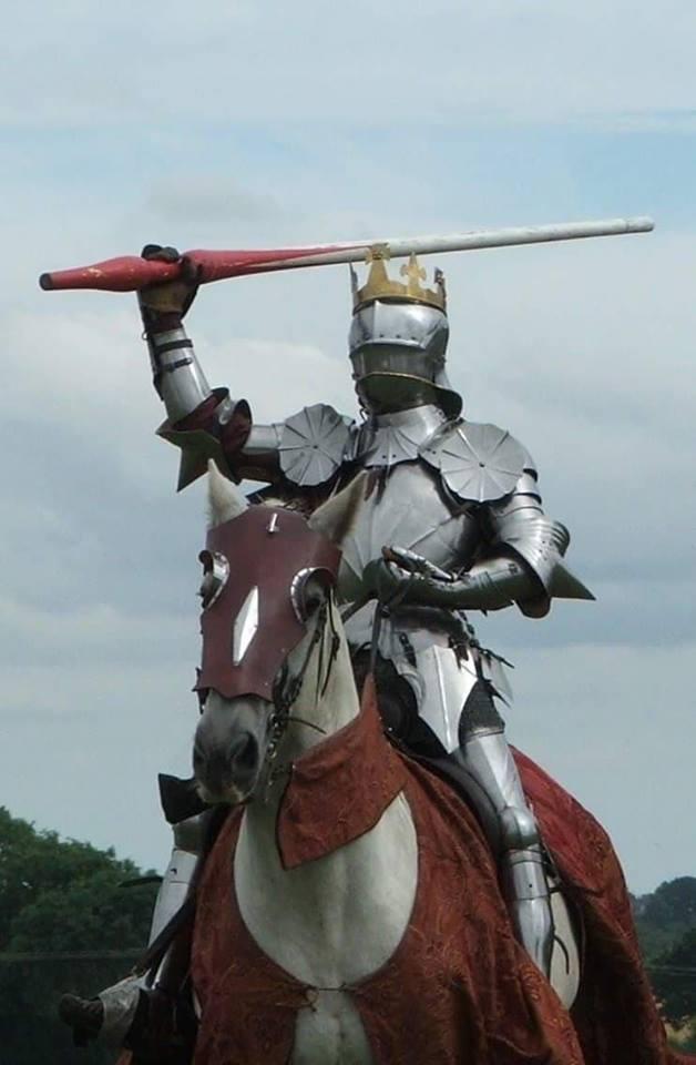 King Richard Bosworth Reenactment copyright Mike Ingram