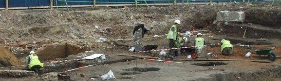Oxford Archaeology Teardrop Woolwich