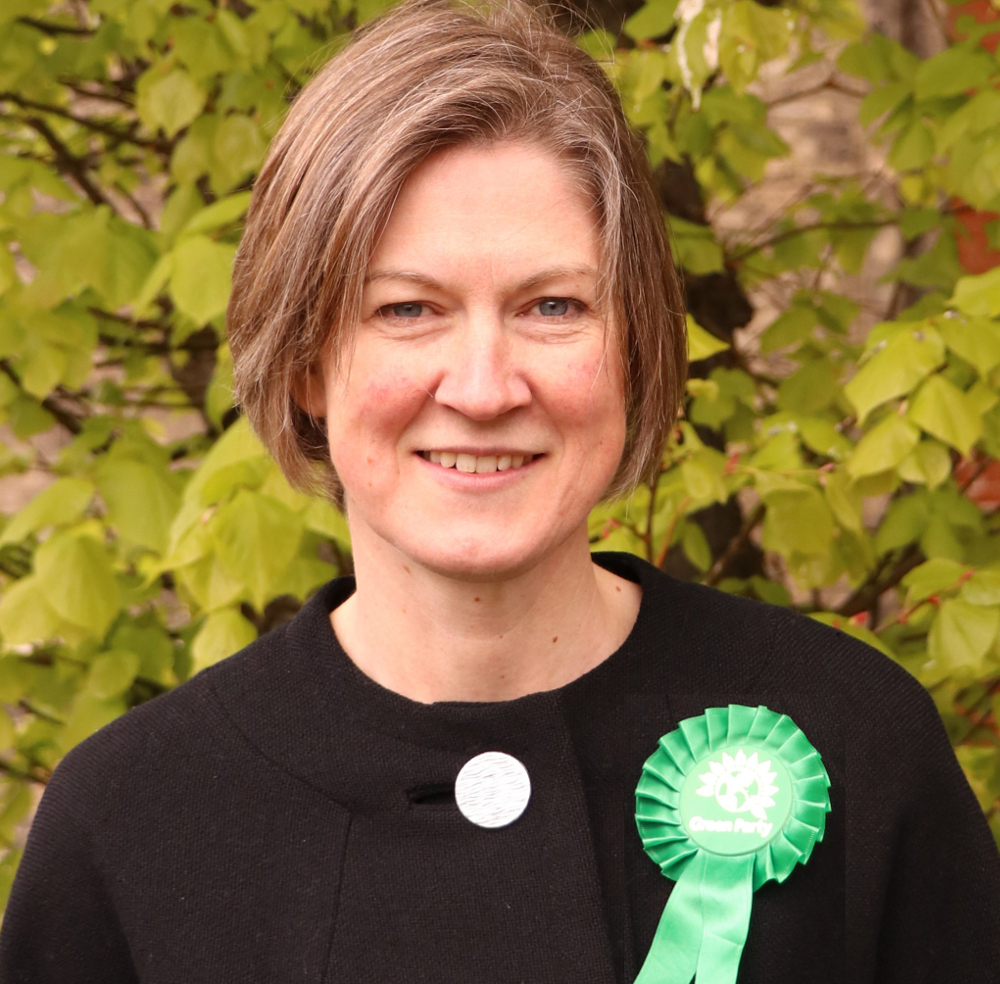 Helen Geake Green Party portrait