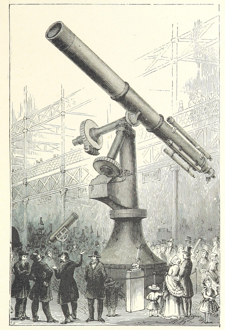 Northampton Telescope Joke Image British Library