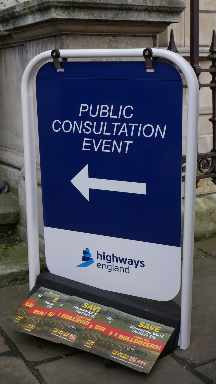 Highways England Sign Burlington Hse Demo 2