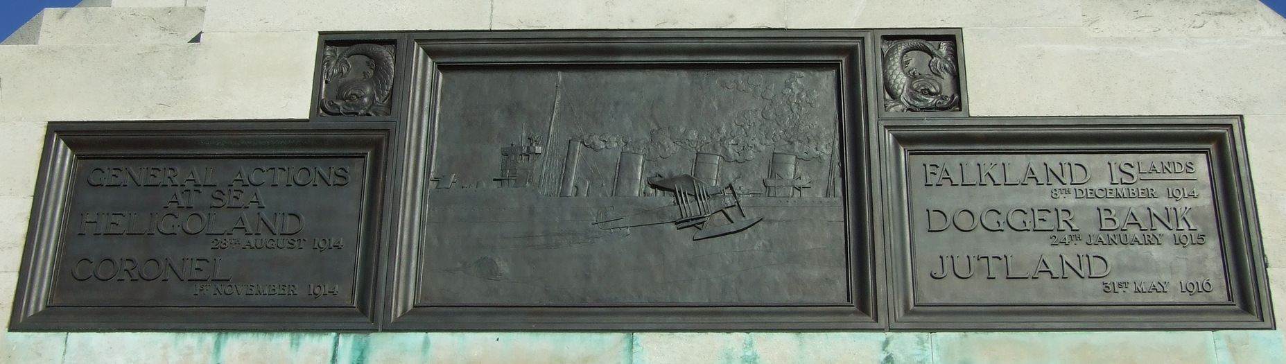 Memorial to the Missing of the RN Chatham 2