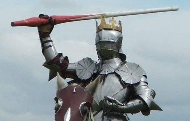 King Richard Bosworth Reenactment copyright Mike Ingram (2)