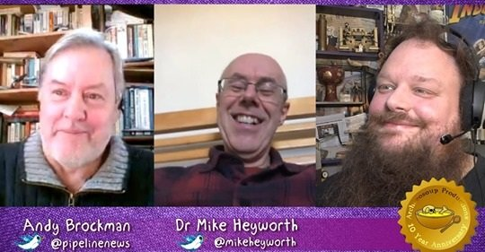 Mike Heyworth Interview March 2020