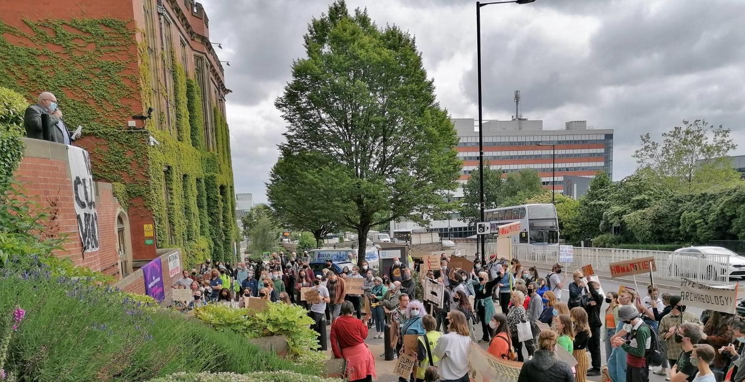 Sheffield Archaeology Demo 21 6 2021