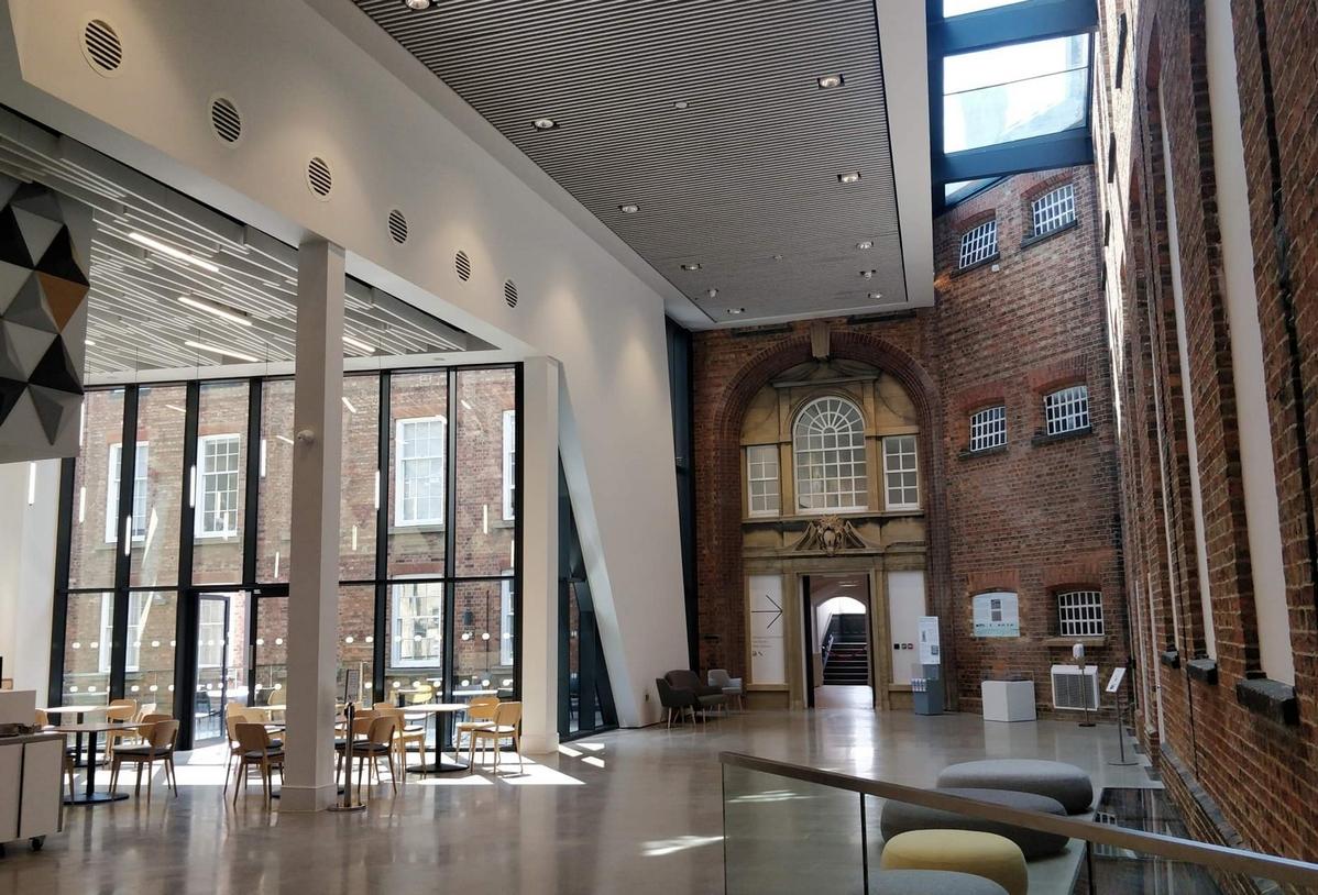 WEB Northampton Museum Atrium copyright Mike Ingram